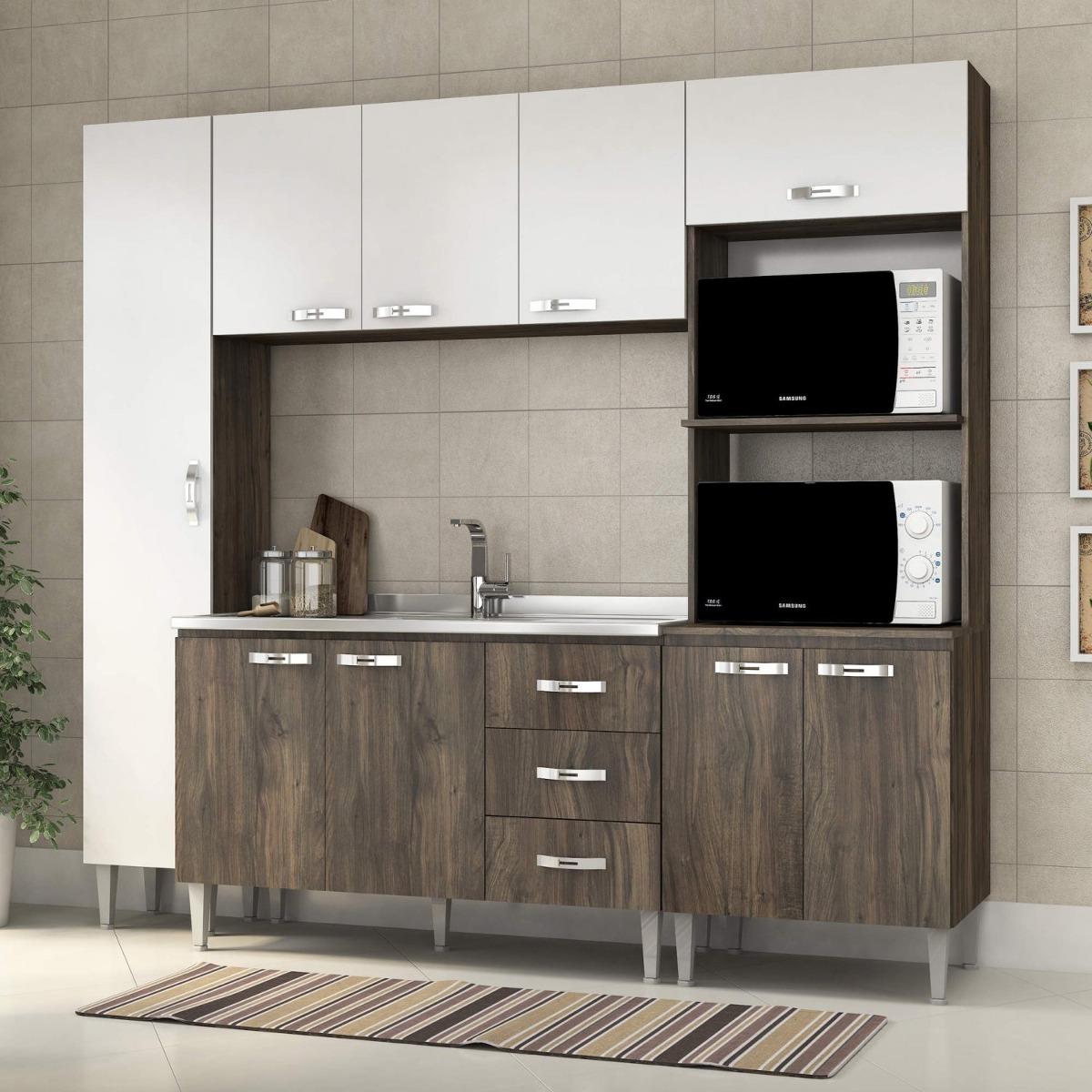 Cozinha Completa Com Balc O Sem Pia 4 Pe As 9 Portas Eiwt R 767