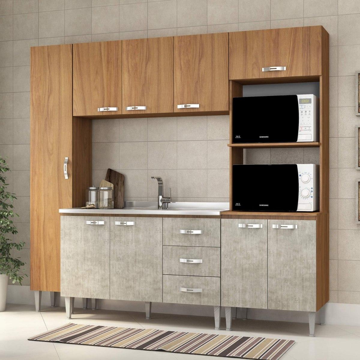Cozinha Completa Com Balc O Sem Pia 4 Pe As 9 Portas Ej R 839 90