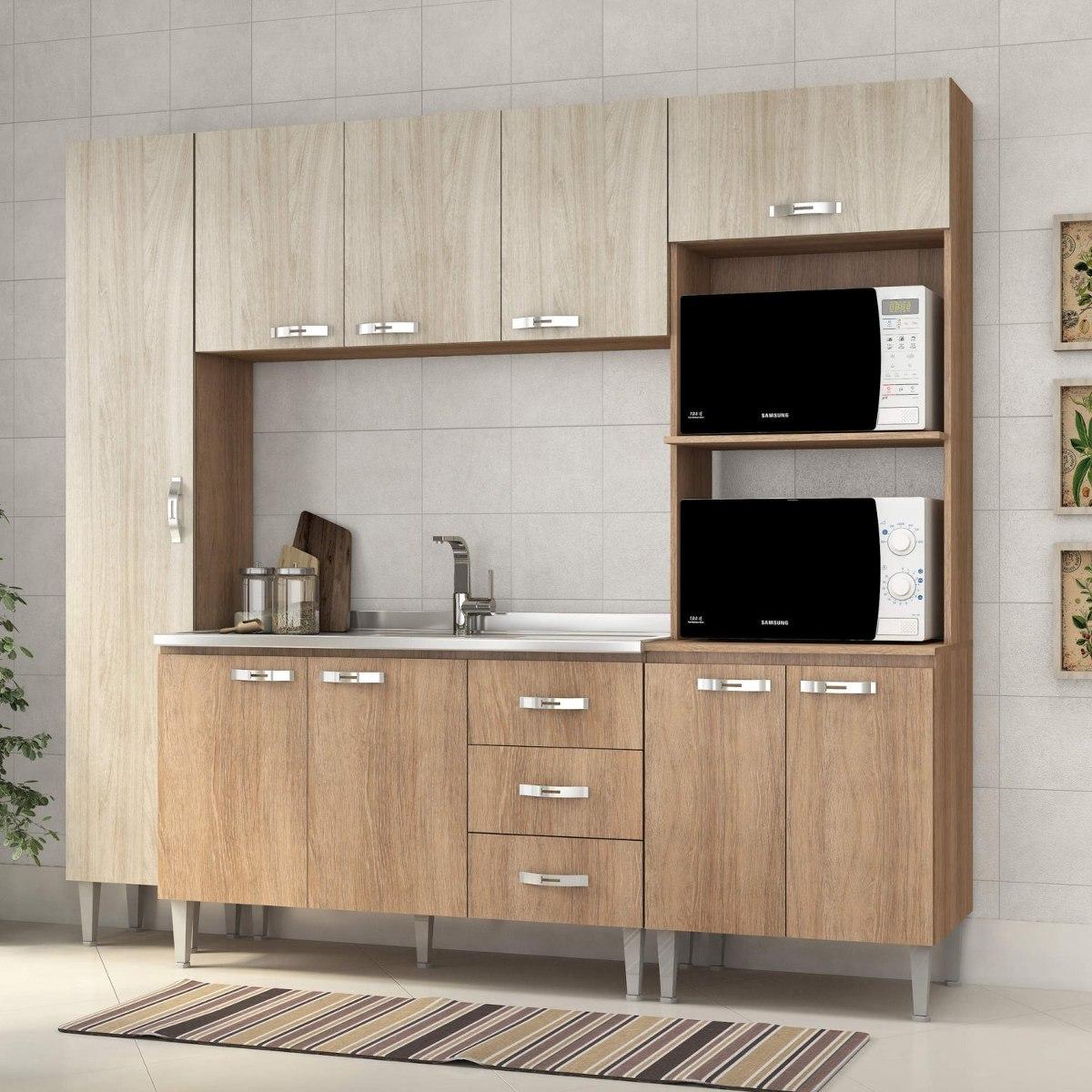Cozinha Completa Com Balc O Sem Pia 4 Pe As 9 Portas Hhwt R 767
