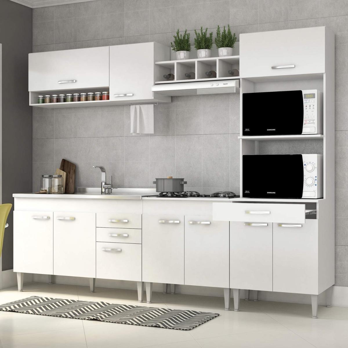 Cozinha Completa Com Balc O Sem Pia 5 Pe As 10 Dawt R 815 90 Em