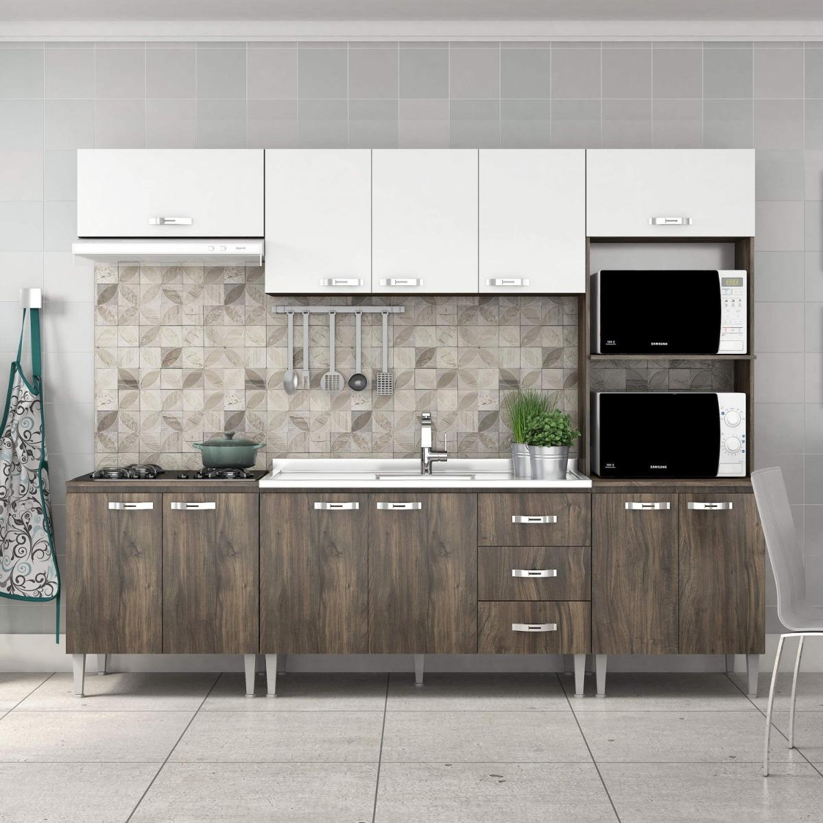 Cozinha Completa Com Balc O Sem Pia 5 Pe As 11 Di R 979 90 Em