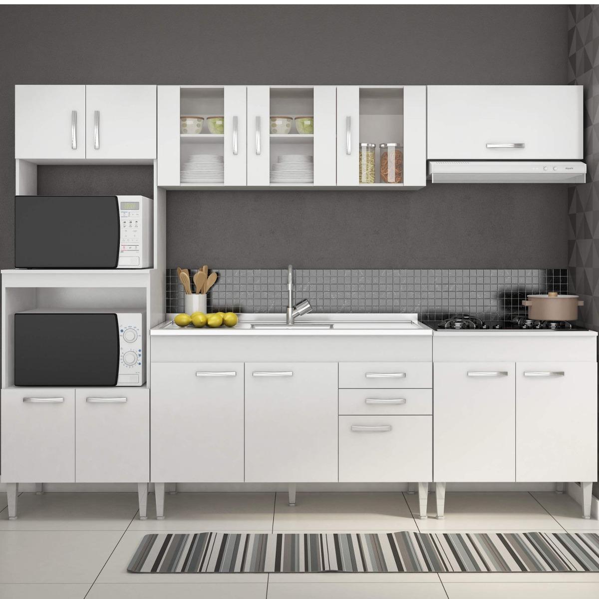 Cozinha Completa Com Balc O Sem Pia 5 Pe As 13 Fj R 909 90 Em