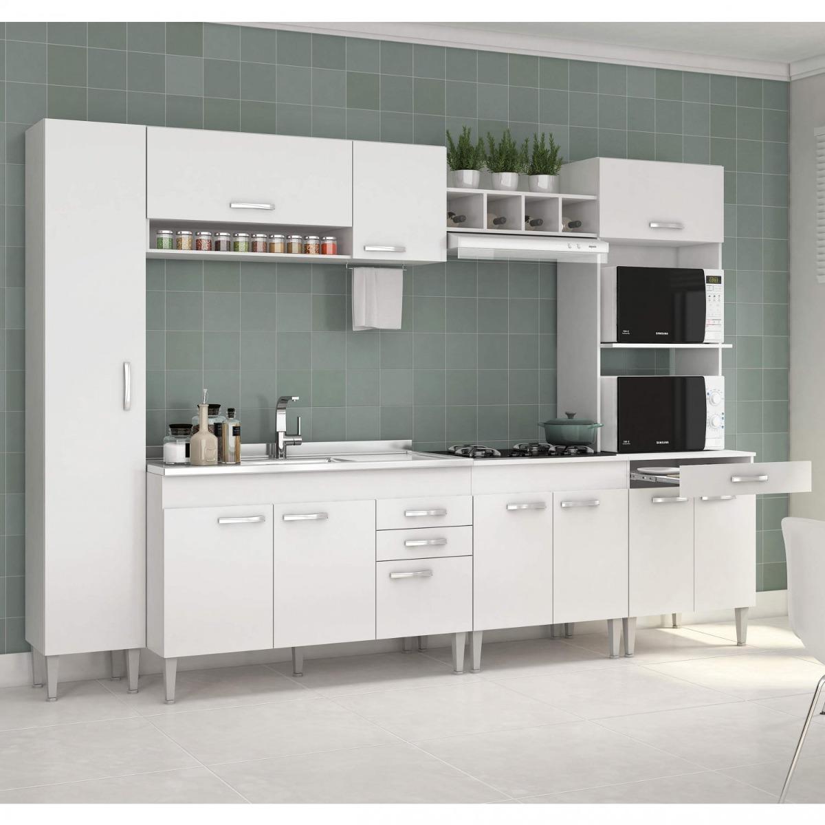 Cozinha Completa Com Balc O Sem Pia 6 Pe As 11 Ed R 999 90 Em
