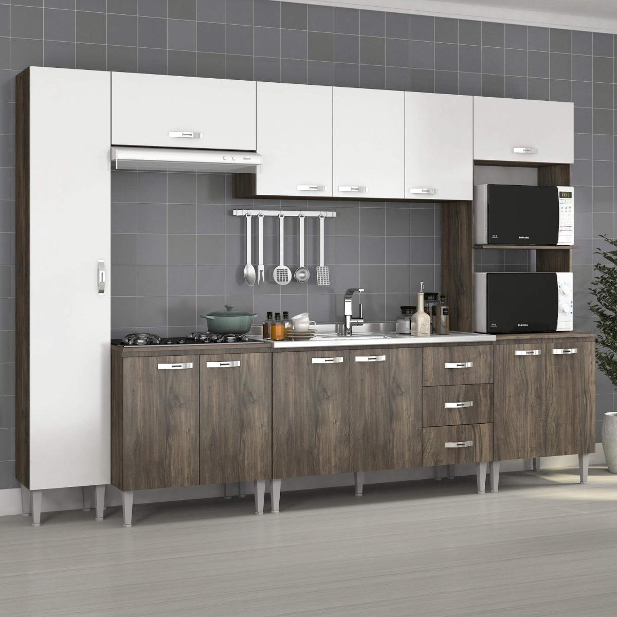 Cozinha Completa Com Balc O Sem Pia 6 Pe As 12 Hbwt R 1 094 30 Em