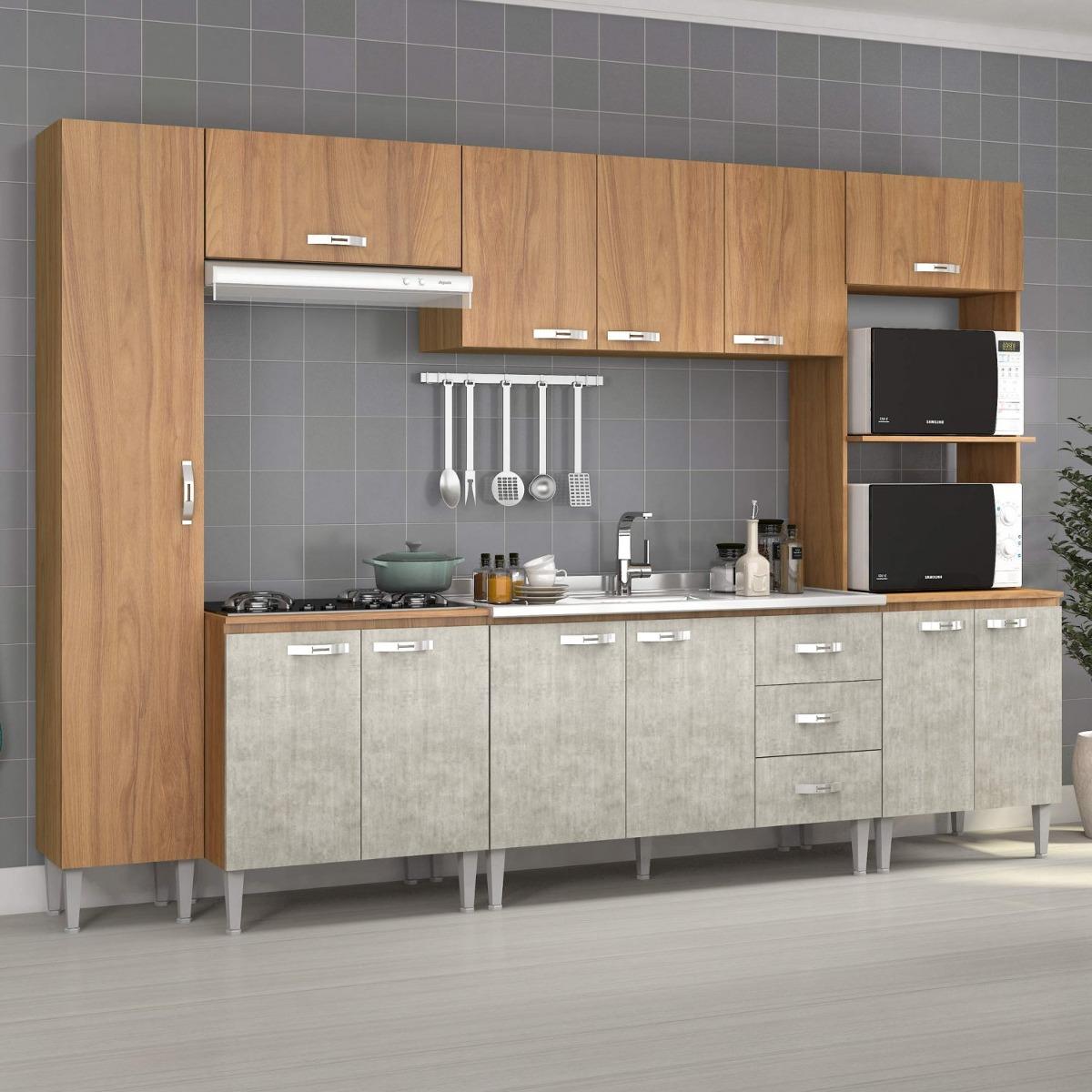 Cozinha Completa Com Balc O Sem Pia 6 Pe As 12 Hc R 1 119 90 Em
