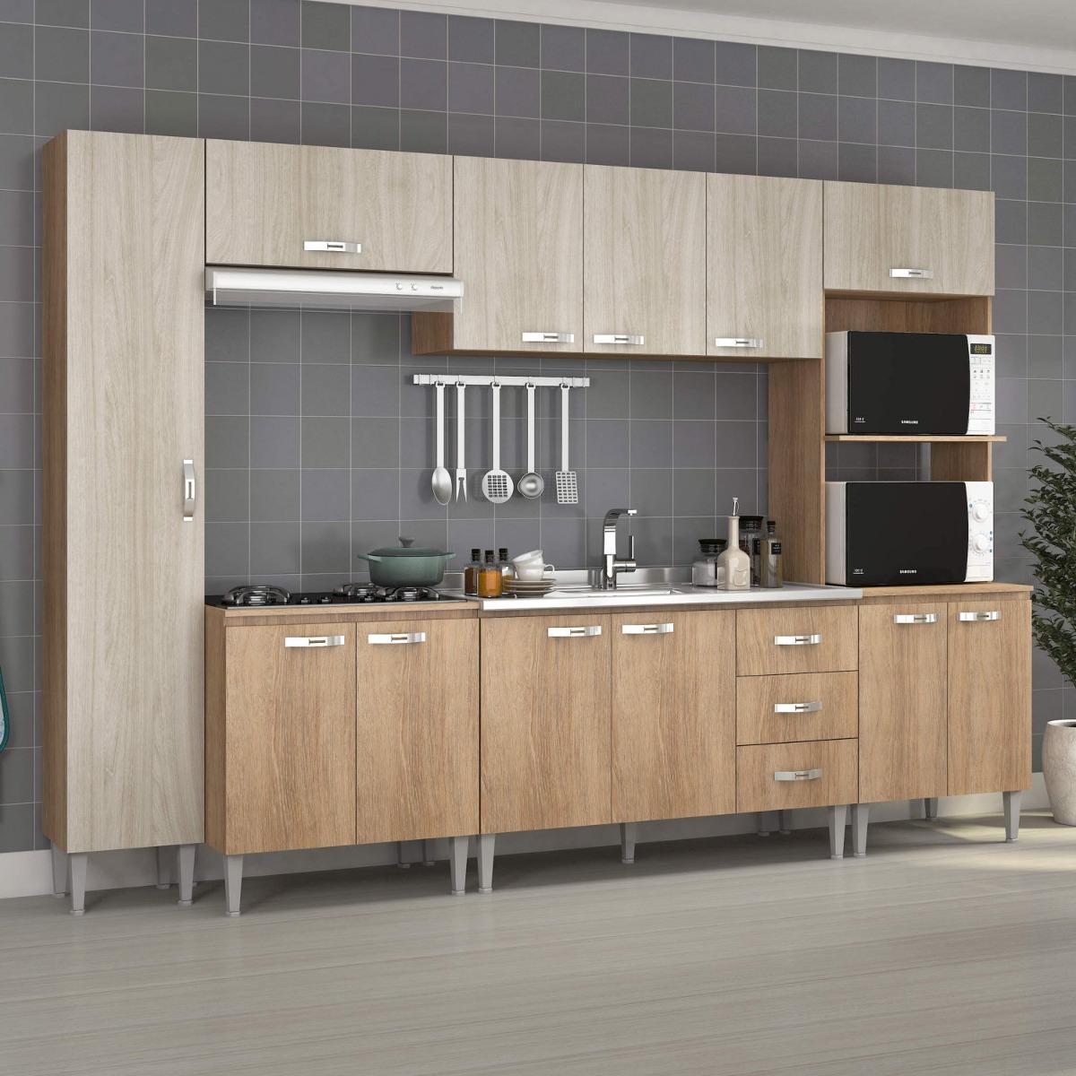 Cozinha Completa Com Balc O Sem Pia 6 Pe As 12 Ifwt R 1 132 70 Em