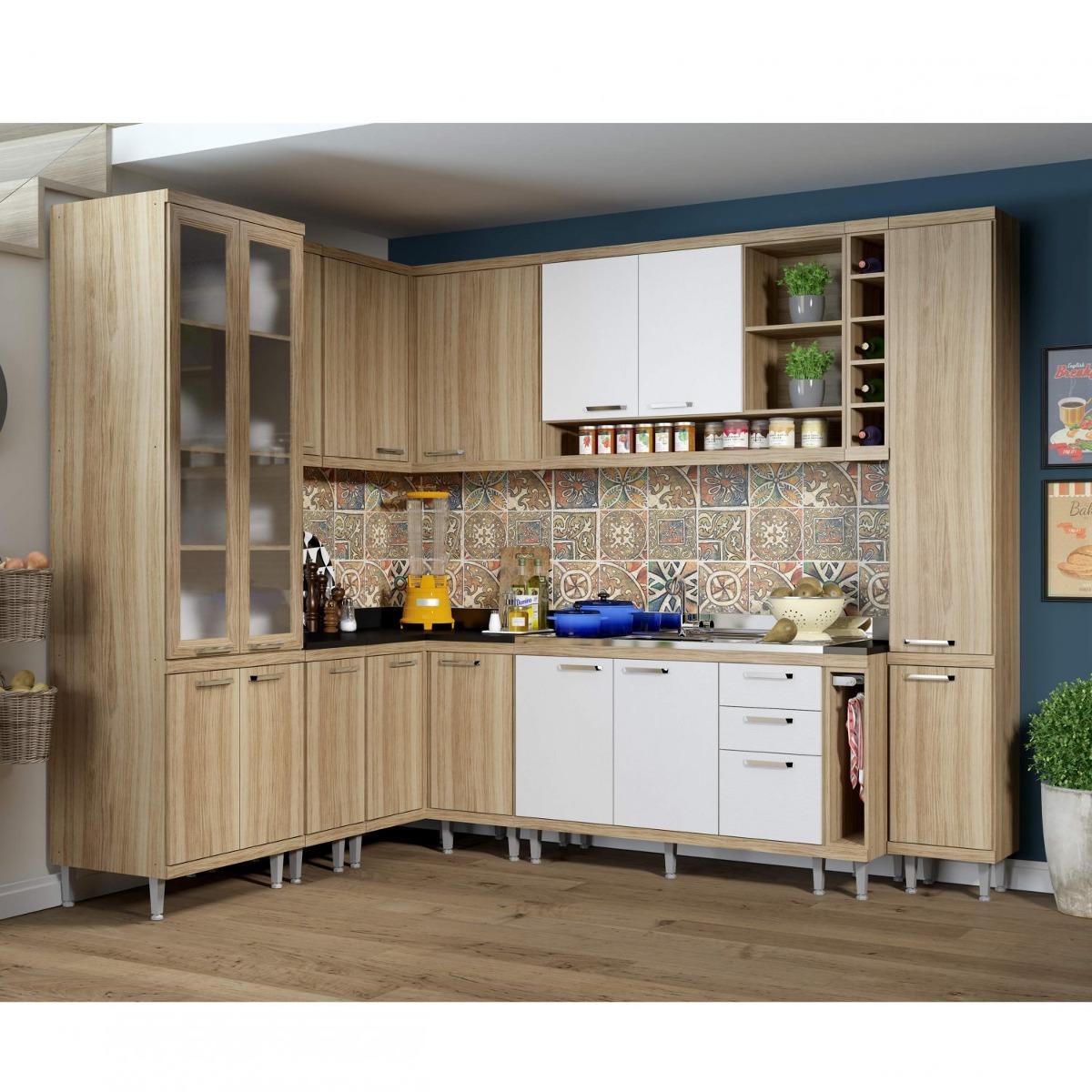 Cozinha Completa Com Balc O Sem Tampo 10 Pe As 16 Fg R 3 199 90