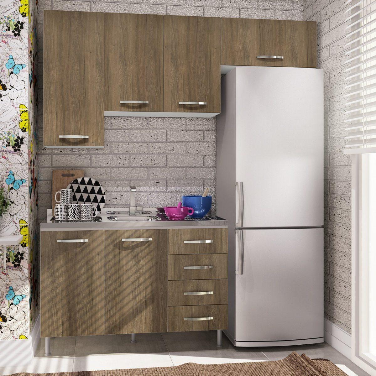 Cozinha Completa Com Balc O Sem Tampo 4 Pe As Bella Ba R 1 019 90