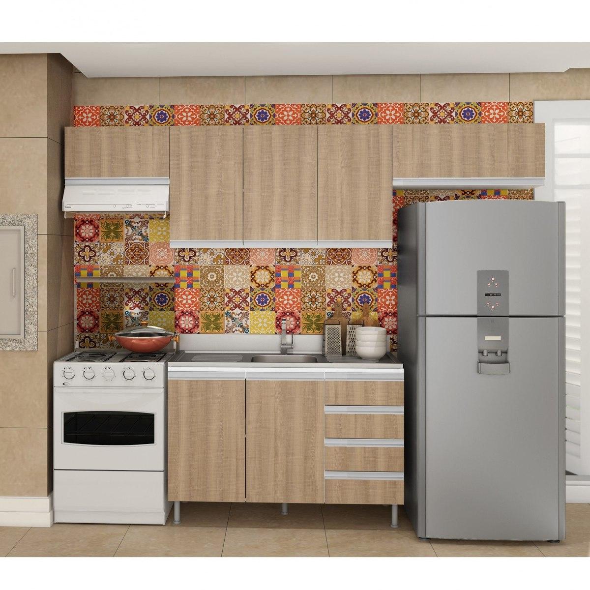 Cozinha Completa Com Balc O Sem Tampo 4 Pe As Verona Fdwt R 911