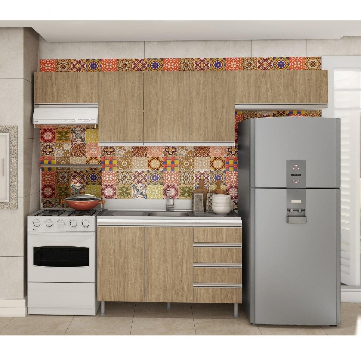 Cozinha Completa Com Balc O Sem Tampo 4 Pe As Verona Fe R 1 159