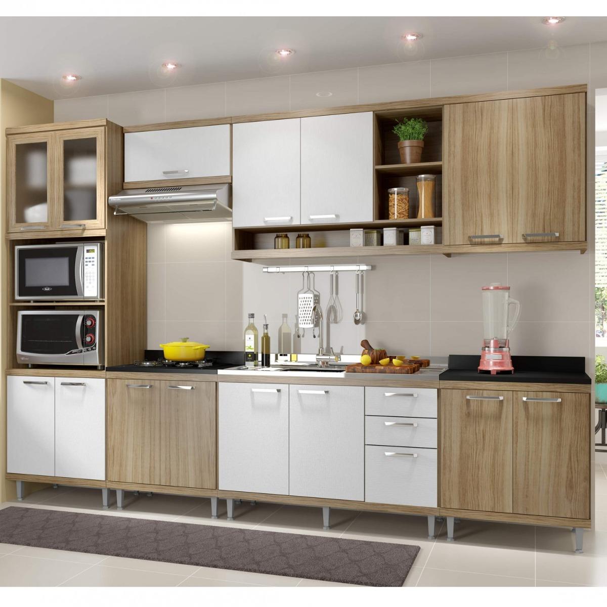 Cozinha Completa Com Balc O Sem Tampo 7 Pe As 15 Bg R 2 499 90 Em