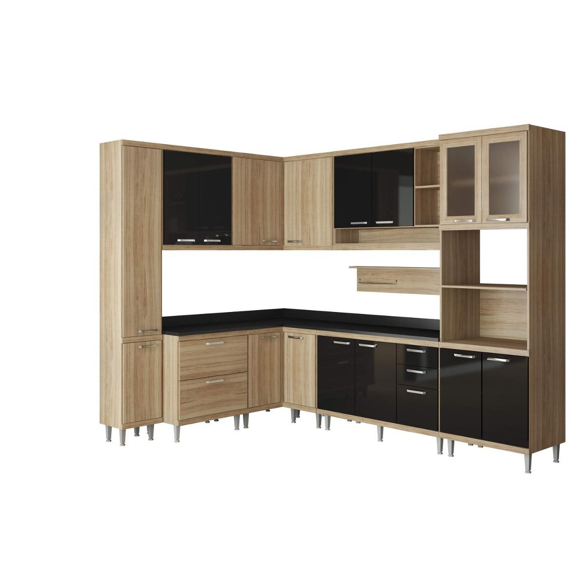 Cozinha Completa Com Tampo 10 Pe As Sic Lia Jc R 3 099 90 Em