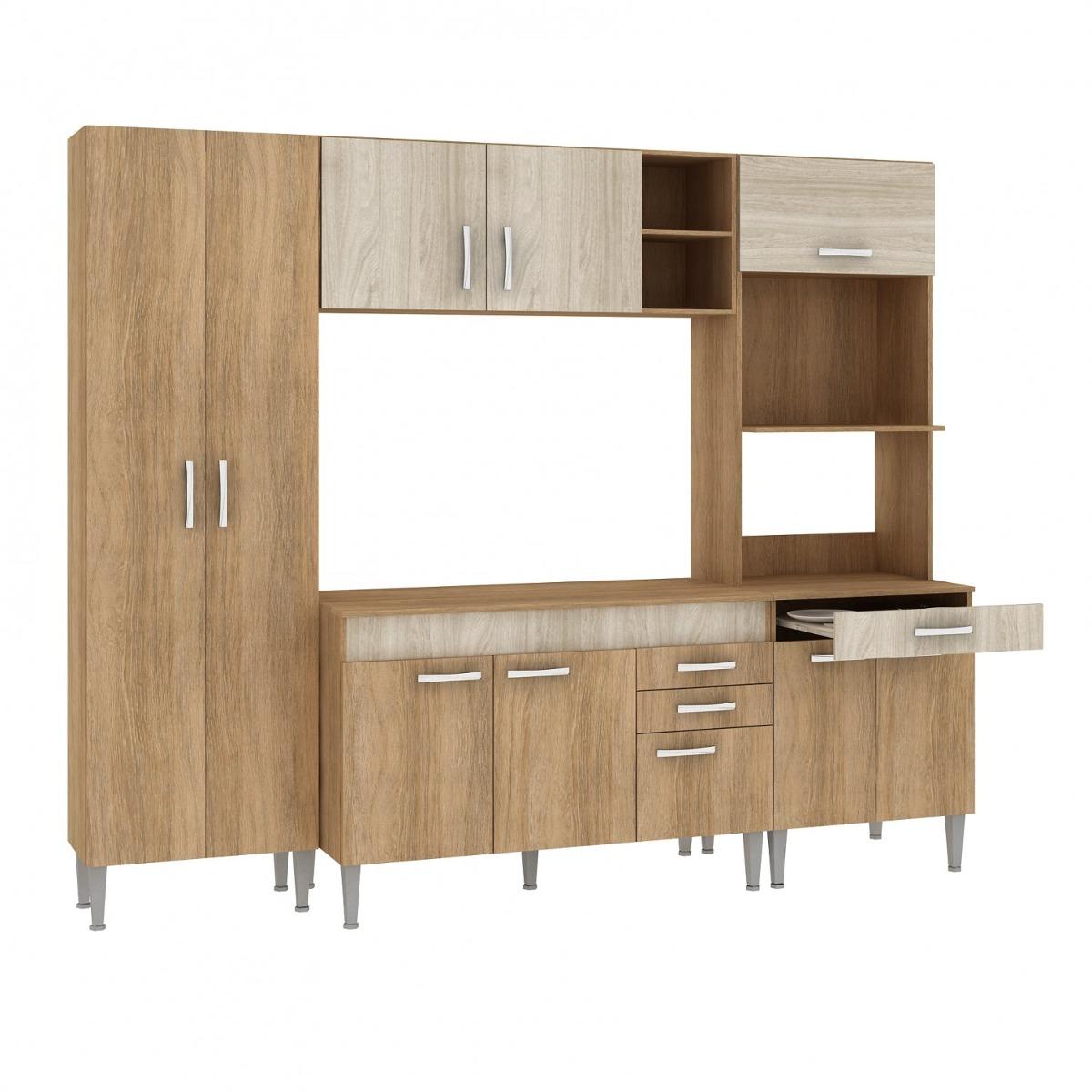 Cozinha Completa Com Tampo 4 Pe As 10 Portas Classic Gh R 929 90