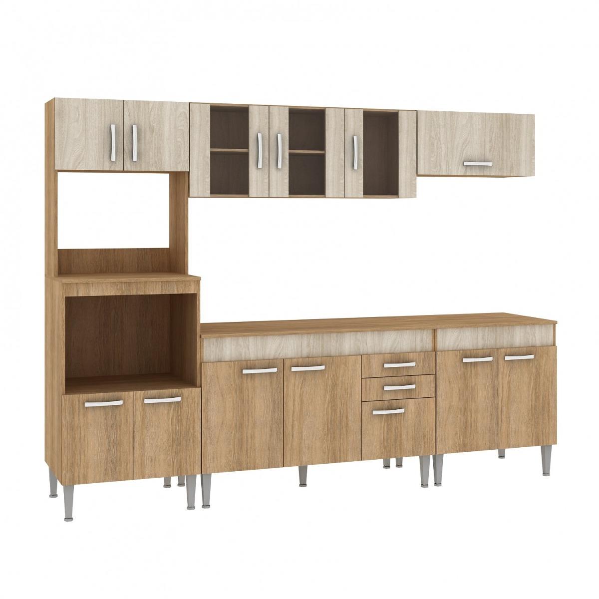 Cozinha Completa Com Tampo 5 Pe As 13 Portas Classic Gb R 979 90