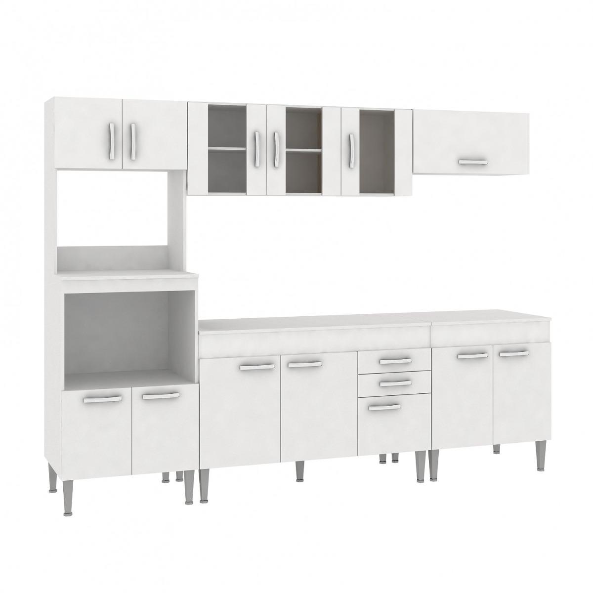 Cozinha Completa Com Tampo 5 Pe As 13 Portas Classic Gc R 979 90