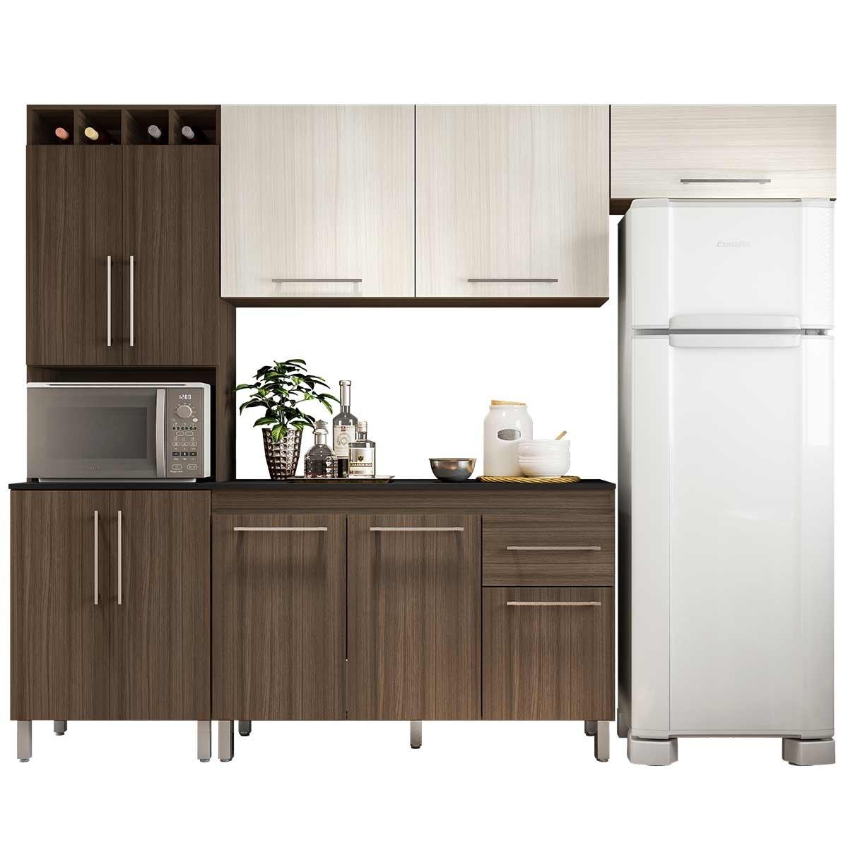 Cozinha Completa Elisa 4 Pe As Poliman Am Ndoa Arena R 974 90 Em