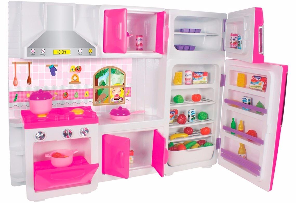 Cozinha De Brinquedo Completa Resimden Com