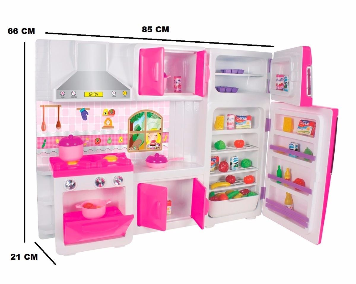 Cozinha Brinquedo Completa Resimden Com