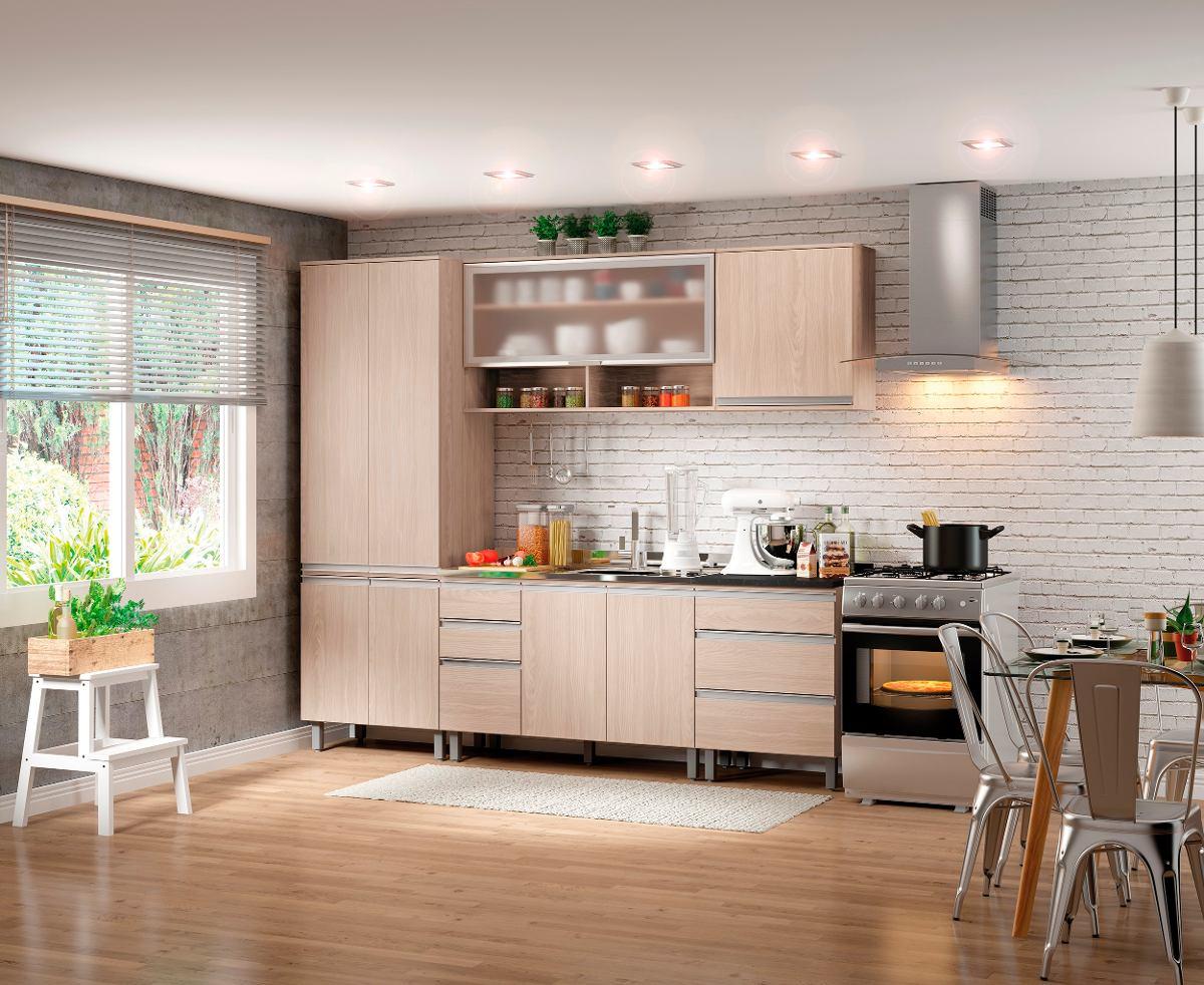 Cozinha Completa Modulada 06 Pe As Connect Fendi Henn R 2 019