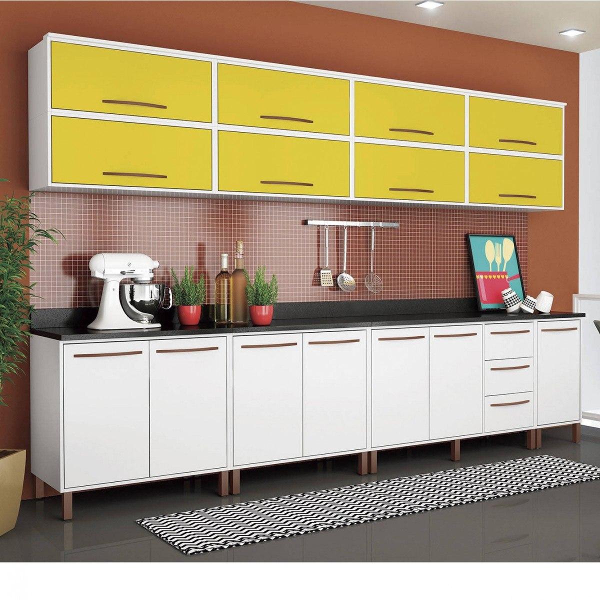 Cozinha Completa Modulada 12 Pe As Albatroz M Veis Cdwt R 2 303