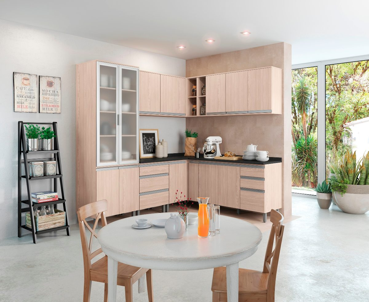 Cozinha Completa Modulada 13 Pe As Connect Fendi Henn R 3 458