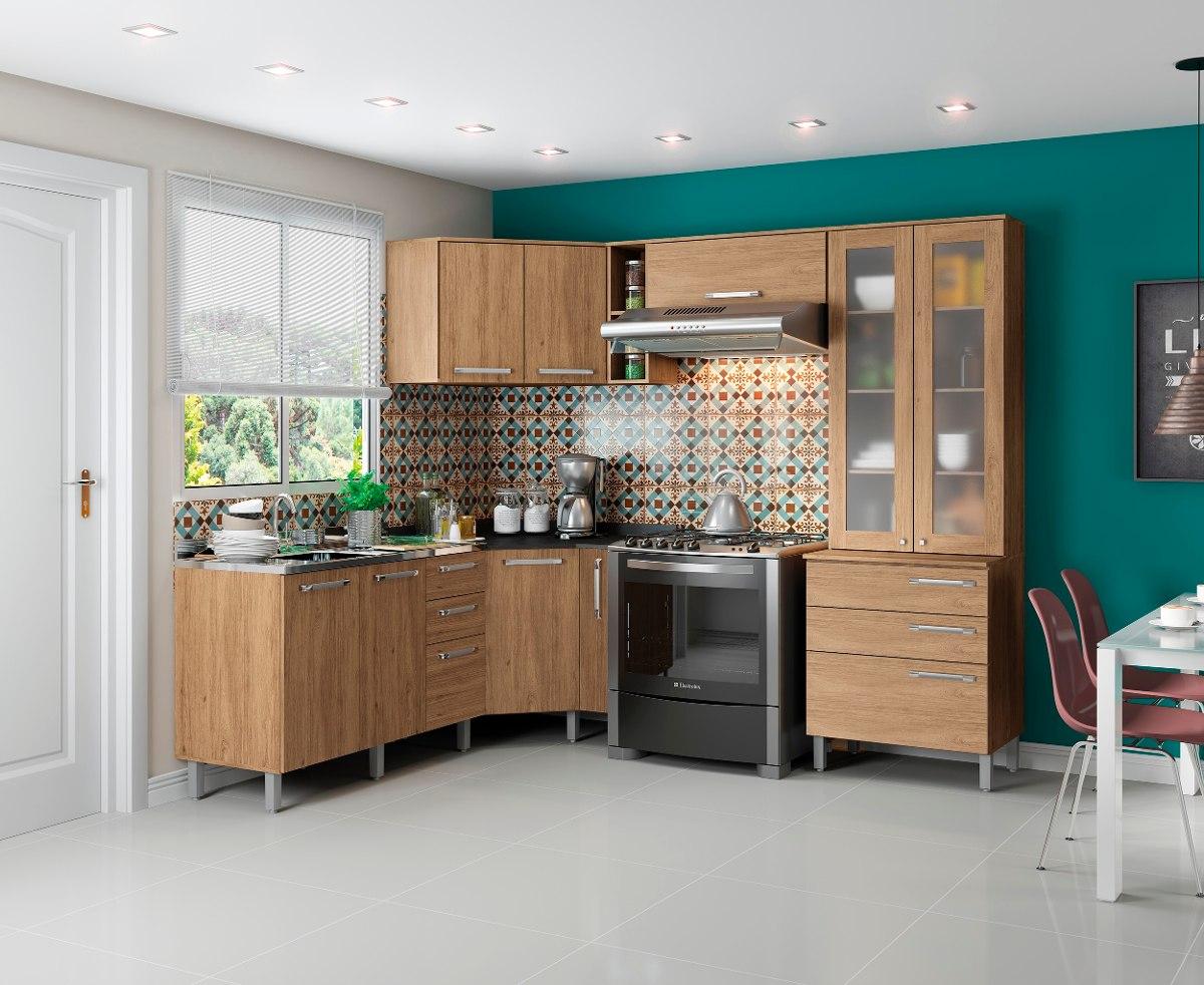 Cozinha Completa Modulada Space 08 Pe As R Stico Henn R 1 749