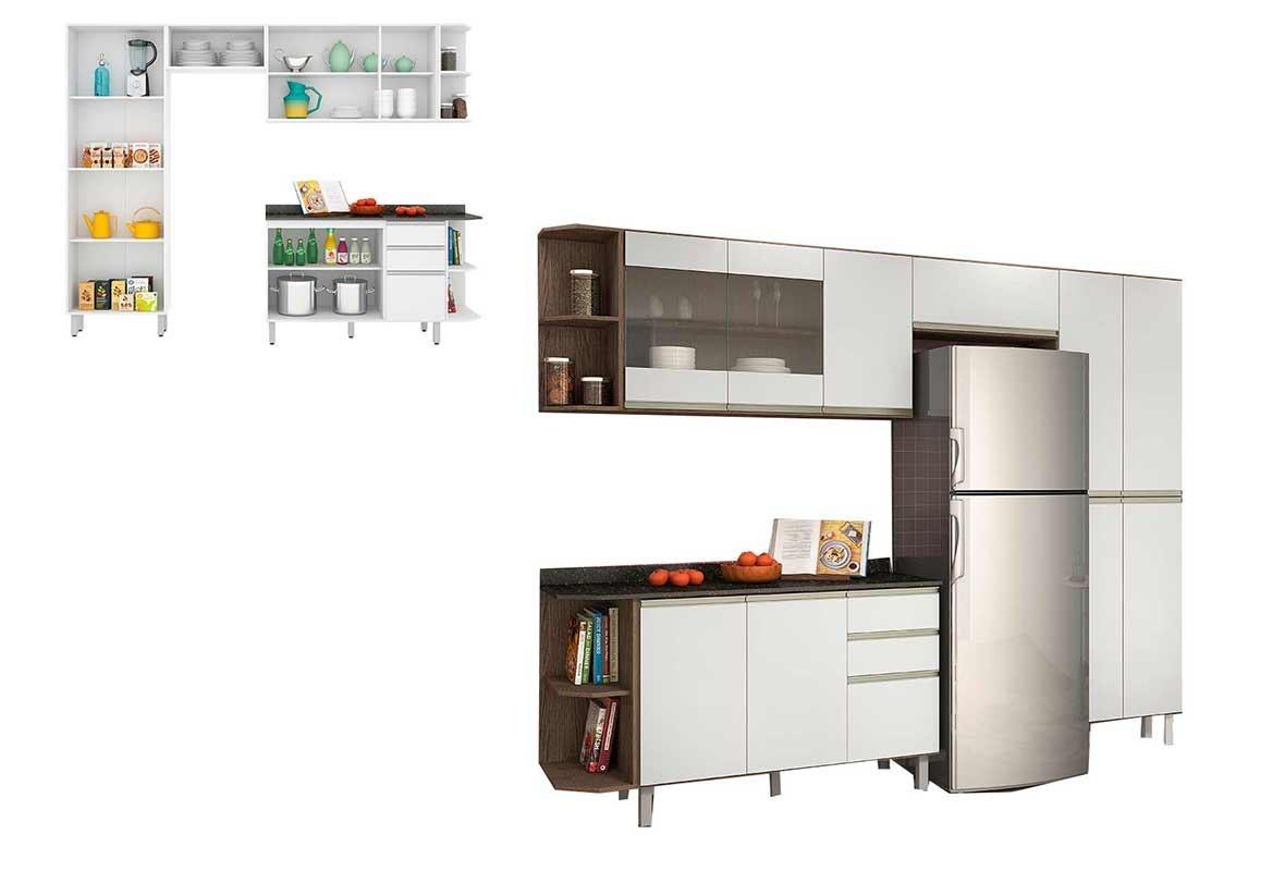 Cozinha Completa Nicioli Am Ndoa Branco Ousadia R 1 351 90 Em