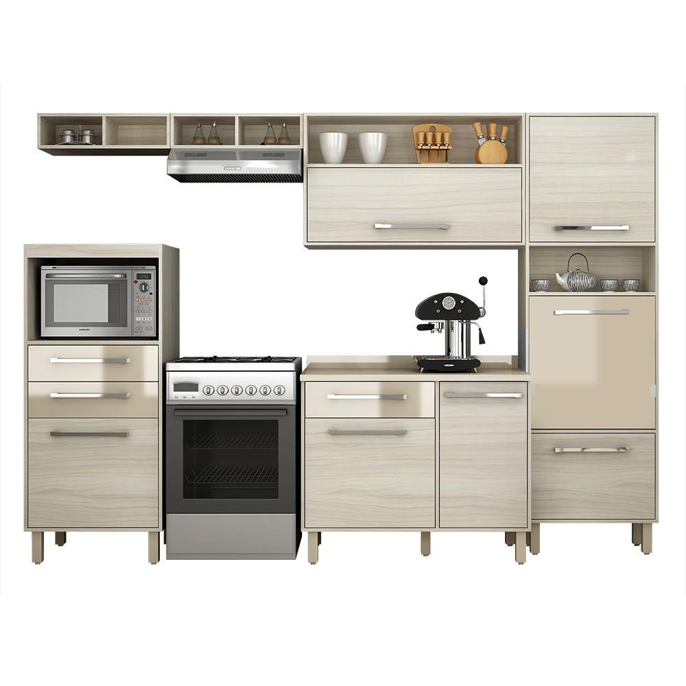 Cozinha Completa Palmeira 6 M Dulos Maia Iv Jacarta Fum R 1 268