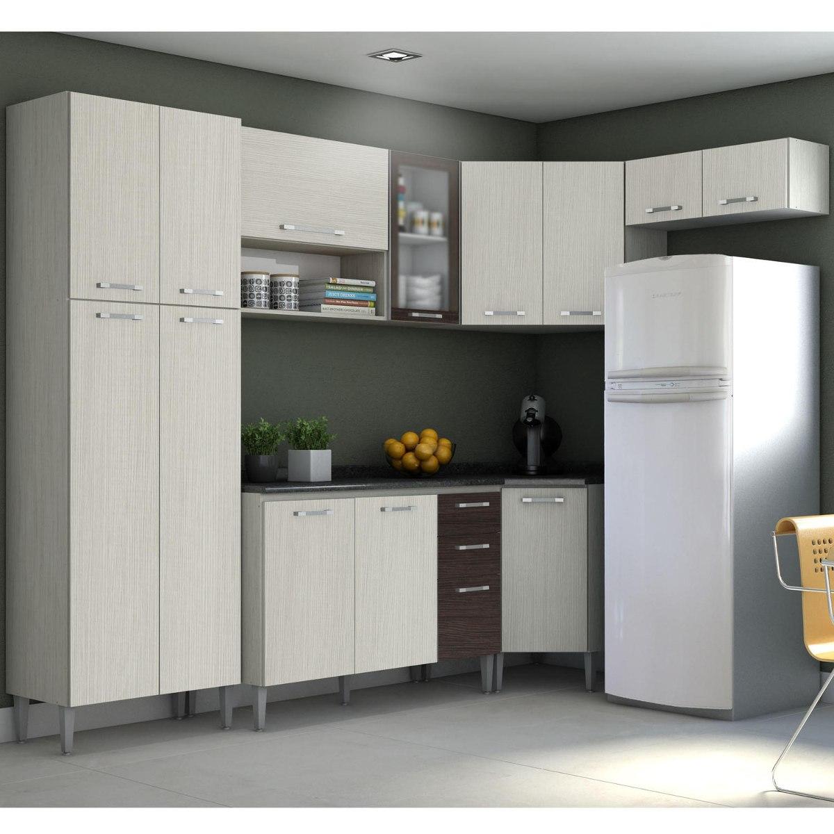 Cozinha Completa Viv 1 Kits Paran Djwt R 950 30 Em Mercado Livre