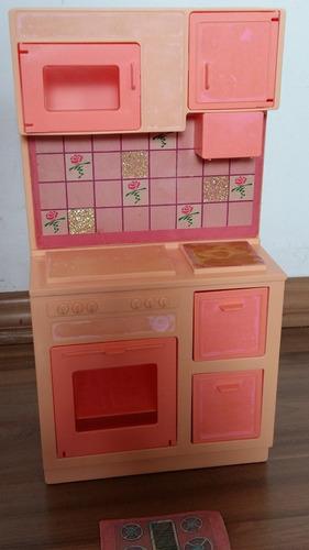 cozinha da barbie