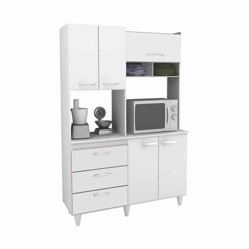 cozinha galax compacta - branca - promoção queima de estoque