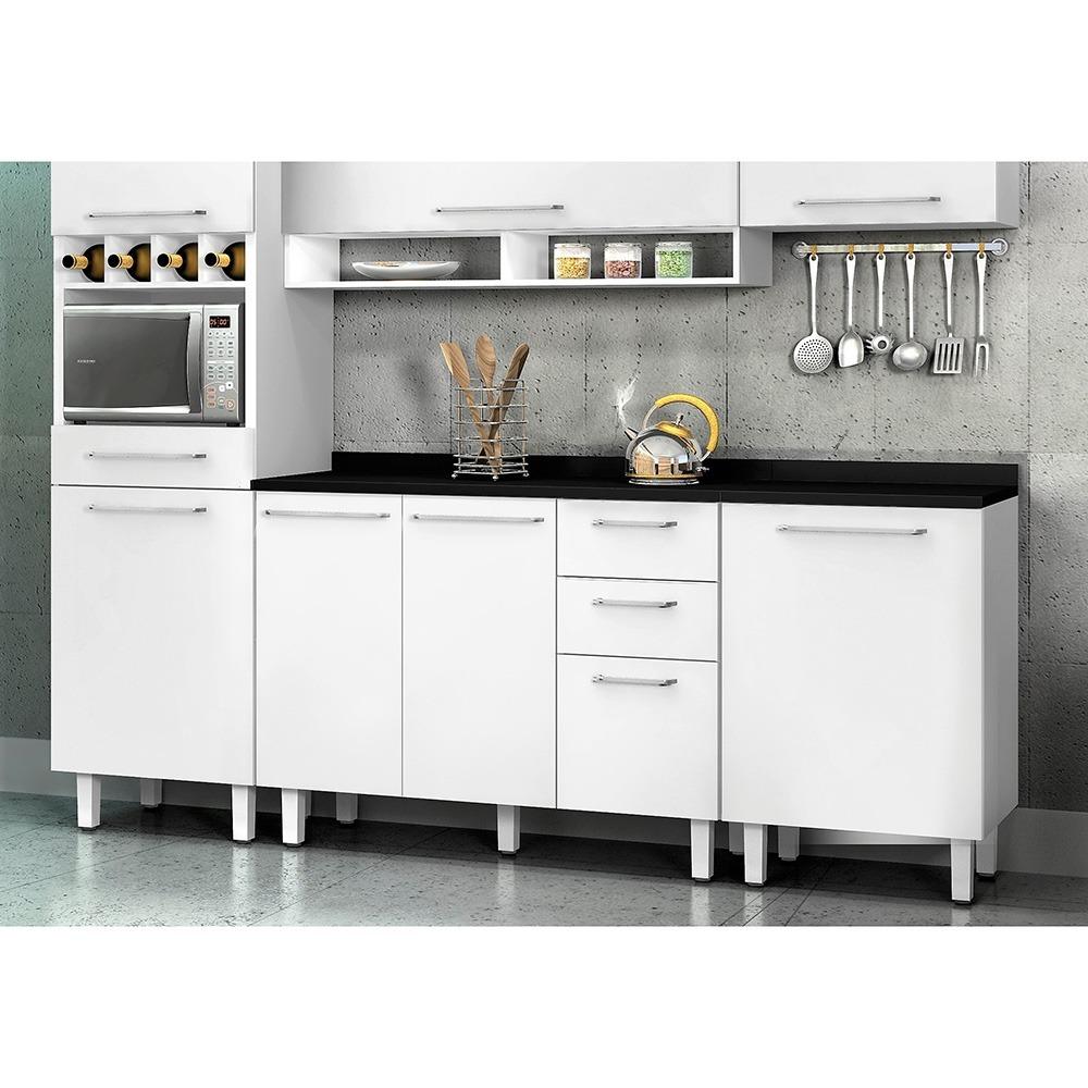 Cozinha Grande Completa 5 Pe As Consulte Frete Gr Tis R 1 699