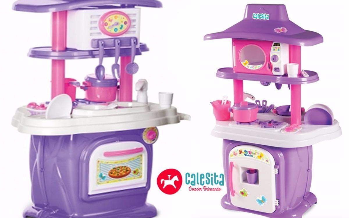 Cozinha Infantil Completa Le Grand Chef Calesita R 284 99 Em