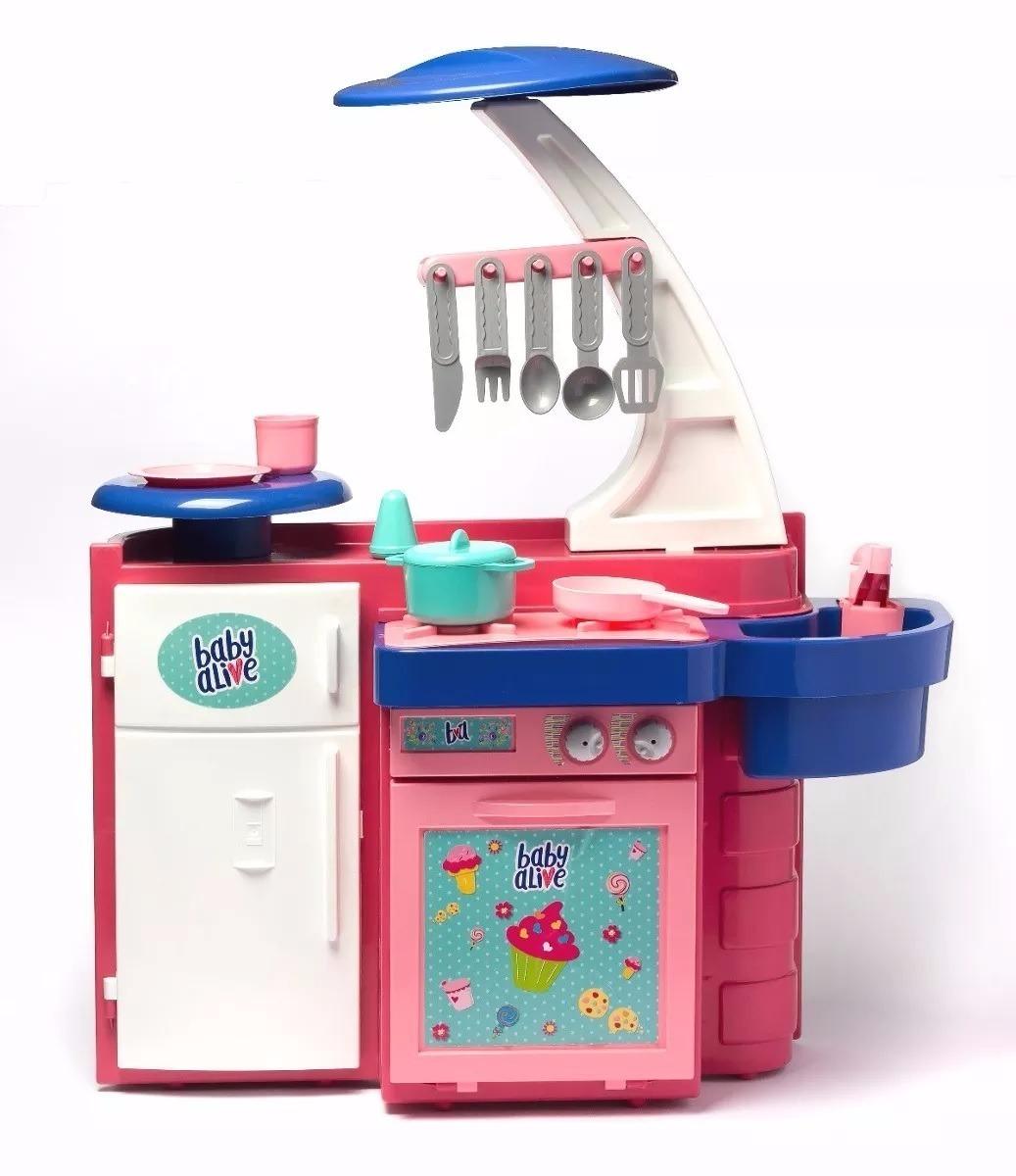 Cozinha Infantil Completa Pia Fog O Geladeira Baby Alive R 179 00
