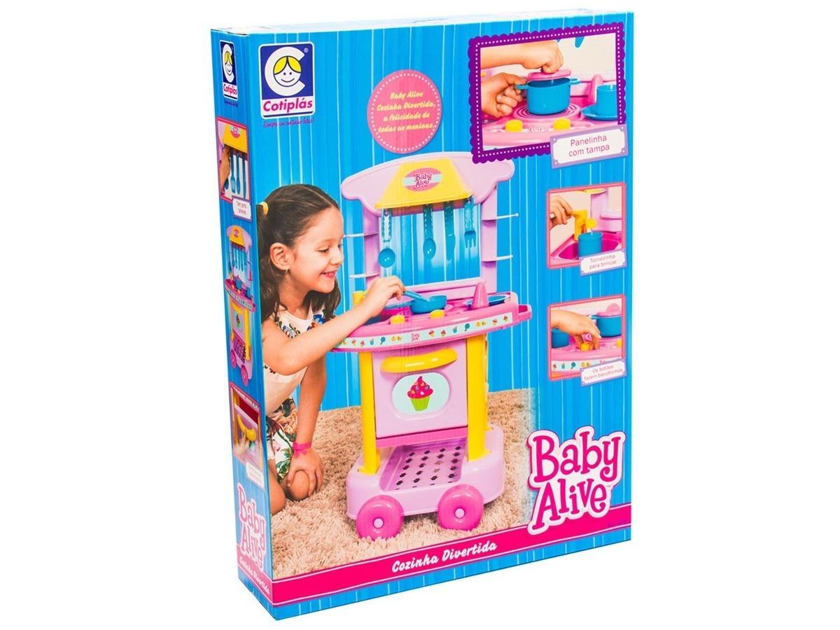 Cozinha Infantil Divertida Baby Alive E R 149 90 Em Mercado Livre