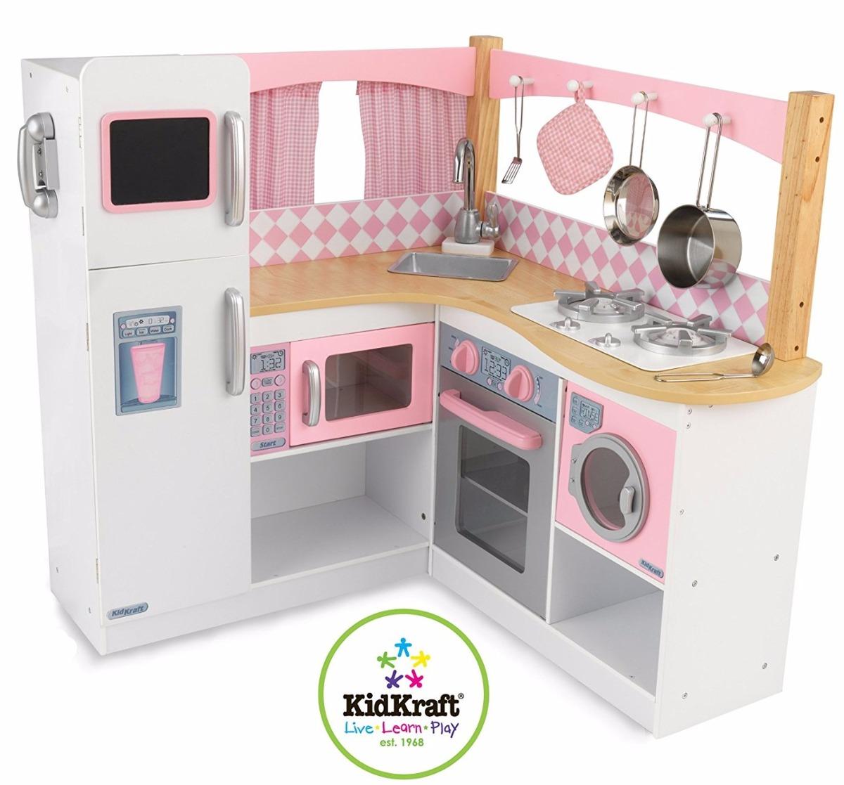 Cozinha Completa Infantil Brinquedo Cozinha Infantil Geladeira Fogo