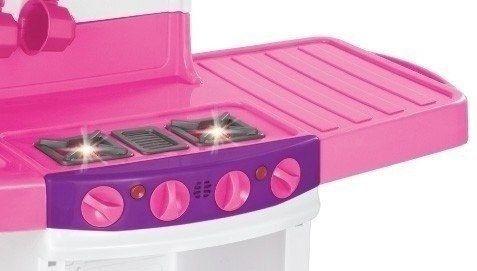 cozinha infantil mágica eletrônica som e luz - 8011