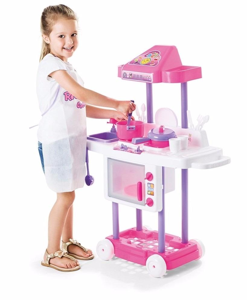 Cozinha Infantil Fog O Geladeira Pia Mobility Chef Calesita