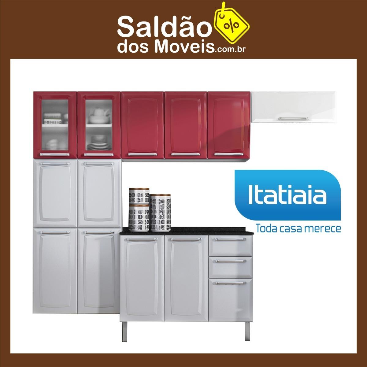 Armario De Cozinha Itatiaia Luce Best Kit Armario De Cozinha Em Ao