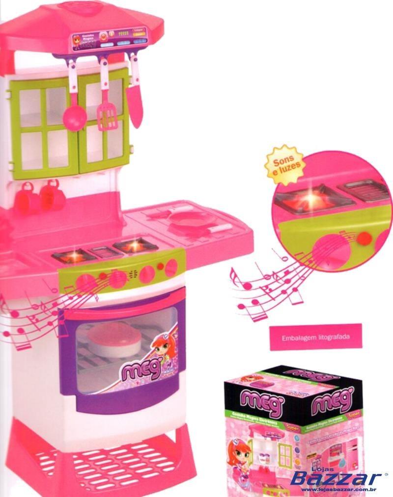 Cozinha Infantil Magic Toys M Gica Eletr Nica Meg Oppenau Info