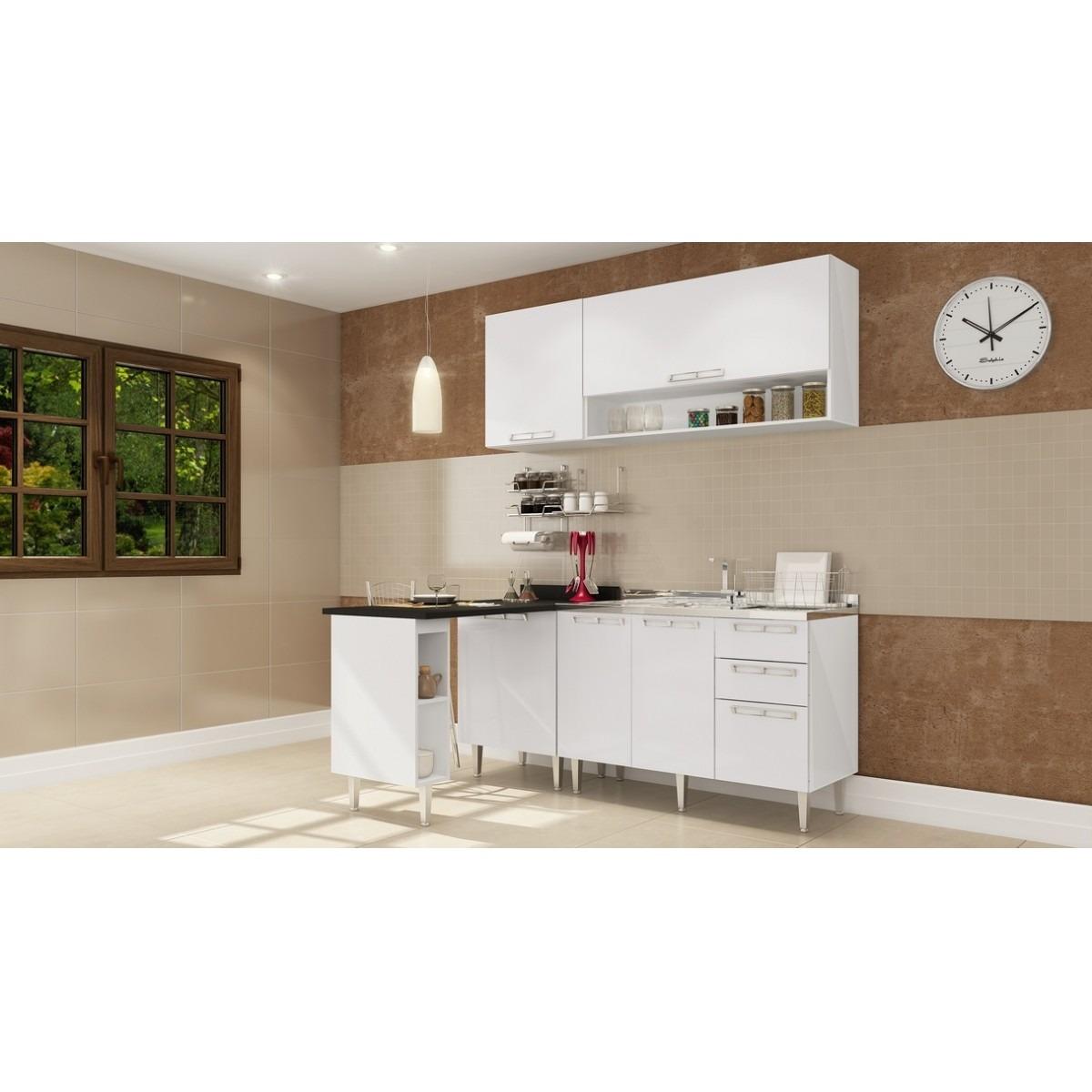 Cozinha Modulada Completa 05 Pe As V Rias Cores Mia Coccina R