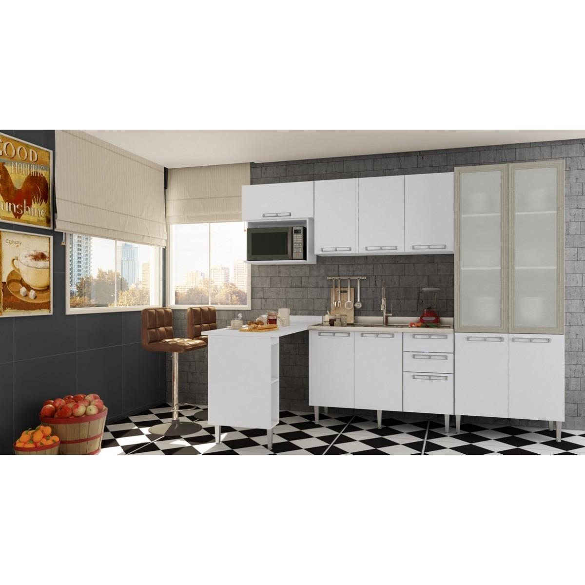 Cozinha Modulada Completa V Rias Cores 06 Pe As Mia Coccina R