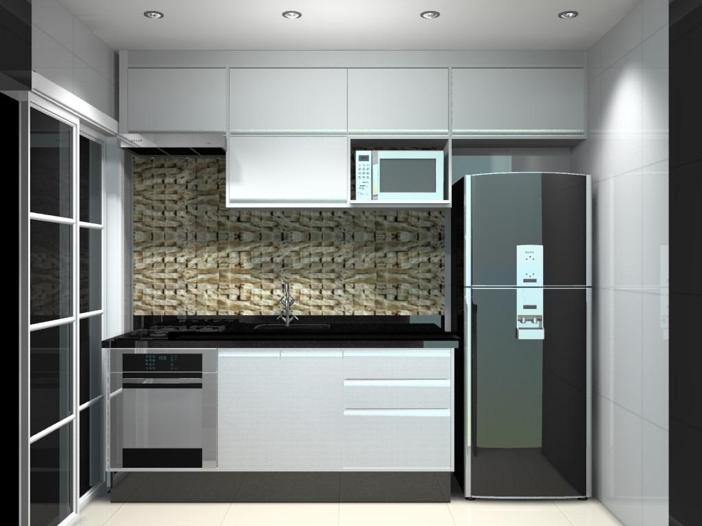 Cozinha Branca Planejada Cozinha Preta E Branca Loja De Cozinha