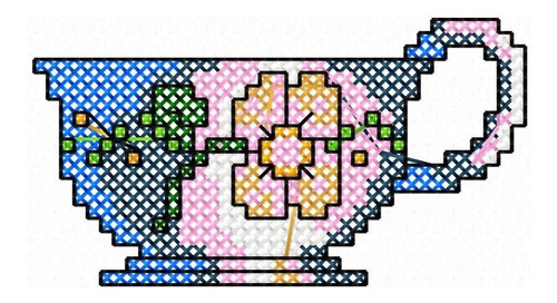 cozinha ponto cruz - 34 matrizes de bordado
