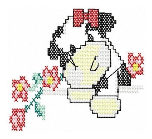 cozinha ponto cruz vaquinha - coleção de matriz de bordado