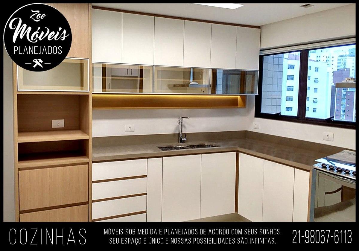 Cozinha Sob Medida M Veis Planejados R 2 999 00 Em Mercado Livre