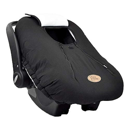Cozy Cover Infant Car Seat Negro La Tapa De P