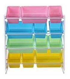 cp190209 pastel collection kids' toy storage organizer w