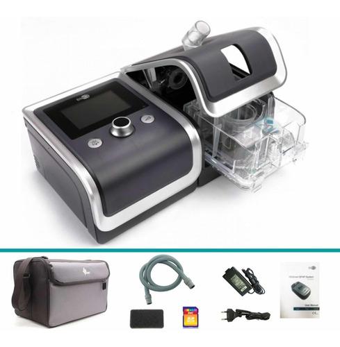 cpap automático com umidificador resmart g2 + máscara nasal