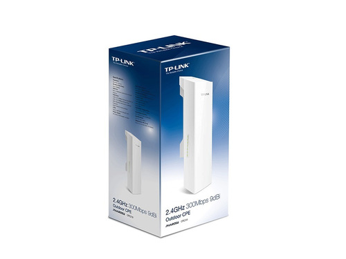 cpe tp-link exterior  cpe210 9dbi antena wifi